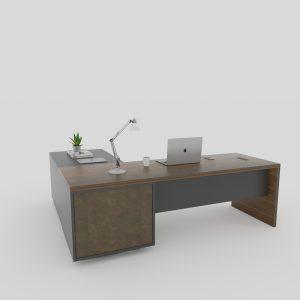 L-shape office desk