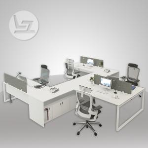Ace Series Y-Shape Cluster of 4x Workstation Desk