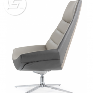 Allen Lounge Leather Chair