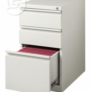 Cajon Drawer Beige File Cabinet