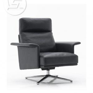 Credo Italian Leather Lounge Chair