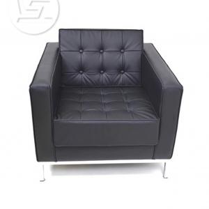 Dna Single Seater Leather Lounge Sofa