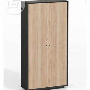 Edge Series Chamfered Full Height dark grey cabinet
