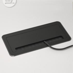 Brushed Socket Box for Desk