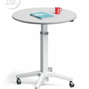 Leo Round Top adjustable table