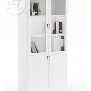 Vetrina Full Height Glass Door Filing Cabinet
