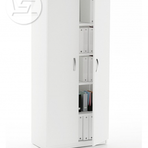 Vetrina Full Height Wooden Doors Filing Storage Cabinet